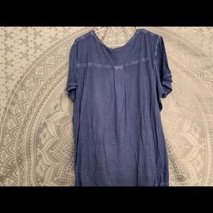 Workshop Republic Clothing Tops - Faded Blue Top